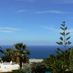 Sea view from our Finca La Primavera, La Palma